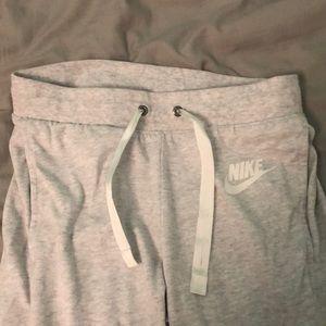 Nike Light Grey Joggers